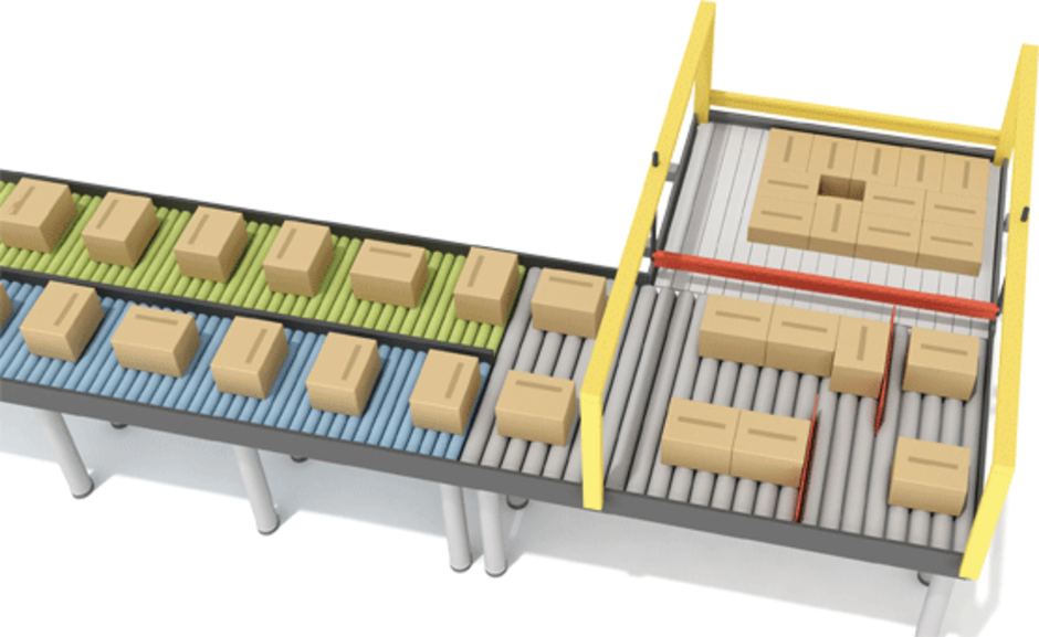 Multipack for layer palletizers